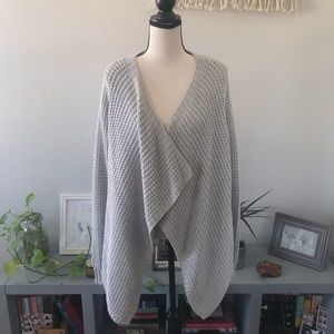 Francesca's Light gray cardigan, size S.